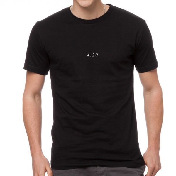 The New Amsterdam 420 Tee - Black
