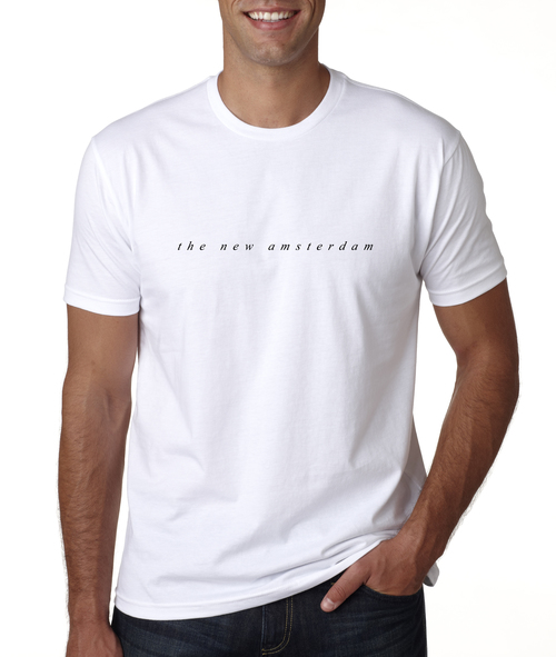 The New Amsterdam Tee - White