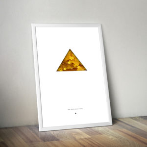 The New Amsterdam Wax Poster - Triangle