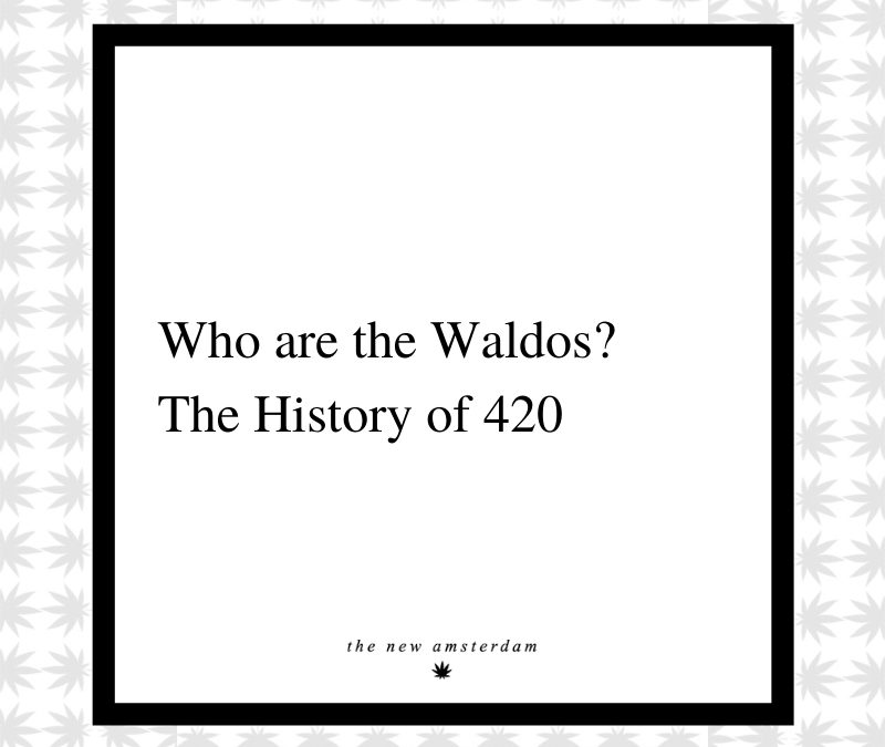 10 - Who are the Waldos? The History of 420 - The New Amsterdam
