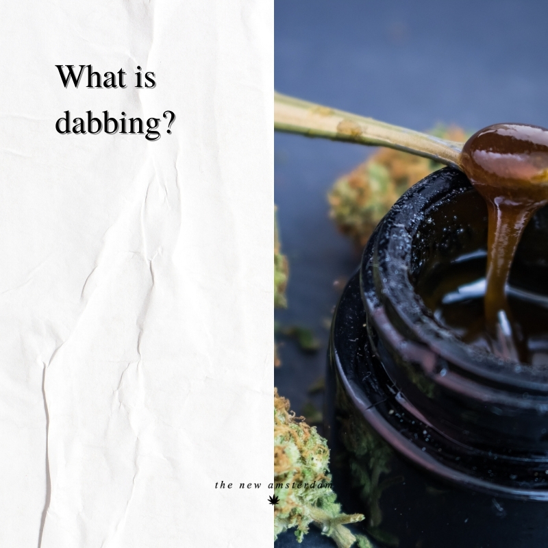 What is dabbing - The New Amsterdam