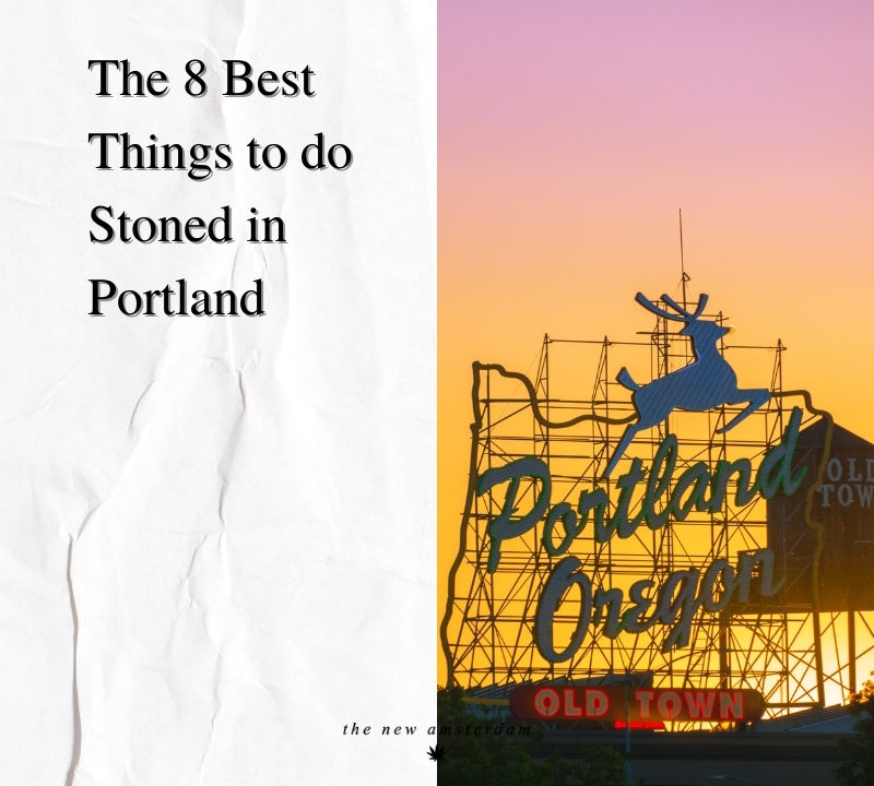 The 8 best things to do stoned in Portland - The New Amsterdam